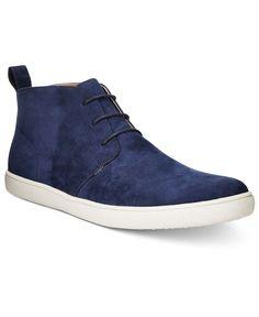 Alfani Men's Kenny Plain Toe Chukka Boots, Only at Macy's