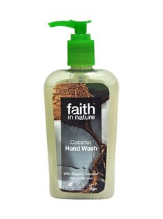 Good Morning.  Do you like the smell of coconut?  This a lovely handwash for £3.77.  Just click to buy online.  http://ecobuys.wikaniko.com/?redirect=faith-in-nature-coconut-hand-wash-special-offer.html Faith in Nature Coconut Hand Wash