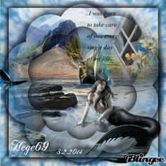 Hege69 Have A Great Sunday, Mermaids And Mermen, Singles Day, Photo Editor, Animation, Pictures, Painting, Beautiful, Art