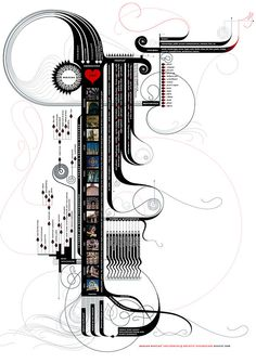 Design by Nature: Energy Visualized -- Second extract from Design by Nature: Using Universal Forms and Principles in Design (New Riders)  #illustration