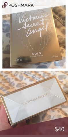 Victoria's Secret Angel Gold Never opened- see second picture (the box is still wrapped in plastic). 2.5 fl Oz. Victoria's Secret Other