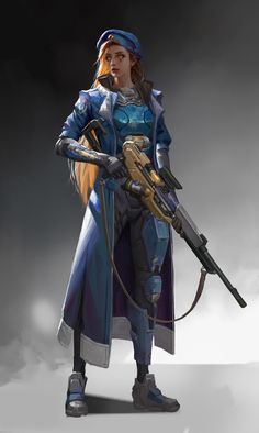 by Eunice Ye Overwatch Female Characters, Sci Fi Characters, Character Concept, Character Art, Overwatch Support, Overwatch Females, Steampunk Armor, Female Cyborg, Overwatch Wallpapers