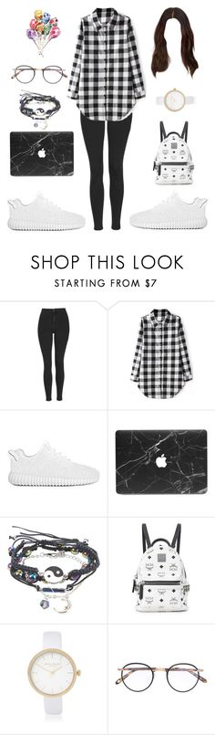 """""""Don't Dream Your Life, Live Your Dream"""" by summertastic101 ❤ liked on Polyvore featuring Topshop, Hot Topic, MCM, River Island and Garrett Leight"""