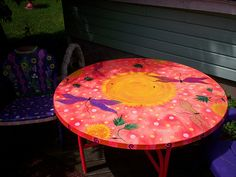 1000 Images About Whimiscal Painted Furniture On