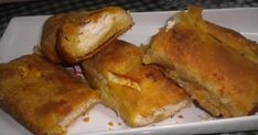 Τυρόπιτα με σπιτική σφολιάτα! Greek Pita, Orzo Salad, French Toast, Lunch, Bread, Cooking, Breakfast, Recipes, Food