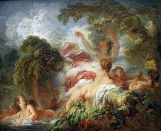 The Bathers, circa 1765, Louvre Museum, Paris.