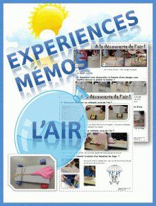 DDM CE1/ CE2 L'AIR EXPERIENCES et TRACES ECRITES