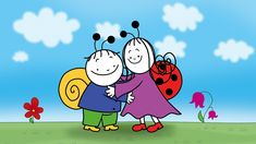Berry, the Snail and Dolly the Ladybird are the best friends ever. They have many pretty adventures while making new friends and seeking out knowledge about . Drawing For Kids, Children Drawing, Peppa Pig, Colouring Pages, Charlie Brown, Smurfs, Berries, Snoopy, Clip Art