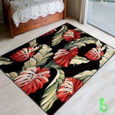 #retro #Leaf #Pattern #Blanket