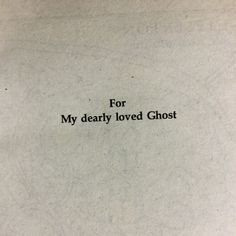 Jm Barrie, House On A Hill, Phantom Of The Opera, The Victim, Destiny, Self, Love You, Nostalgia, Thoughts