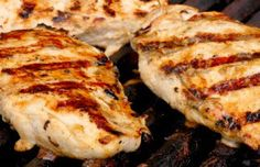 Recipe Box: Cafe Rio Fire Grilled Chicken  2 1/2 lbs chicken  1/2 bottle zesty Italian dressing 1/2 T chili powder 1/2 T cumin 1/2 clove of garlic, minced  Marinate and grill.