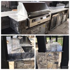 Outside Kitchen Granite Top Kitchen Tops, Granite Kitchen, Granite Tops, Type 3, Theater, Flat Screen, Marble, Facebook, Teatro