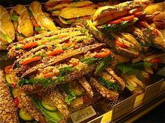 sandwich display @ paul bakery
