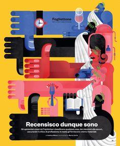 IL magazine 2013/2014 by Maria Corte Maidagan, via Behance