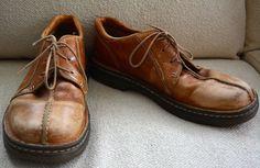 VINTAGE Mens DR DOC MARTENS Shoes OXFORDS 90s GRUNGE Hip Hop STEAMPUNK 9 Leather #DrMartens #Oxfords