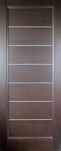 modern door, dark wood with metal detail Furniture Handles, Door Furniture, Decor Interior Design, Modern Interior, Interior Doors, Panel Doors, Windows And Doors, External Doors, Modern Door
