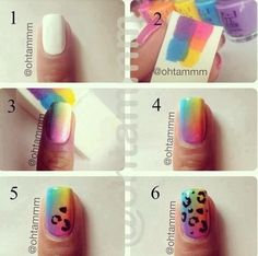 Adorable Nails!<333  Super easy to do!!