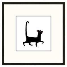 Found it at Wayfair.ca - Sassy Cat Framed Graphic Art