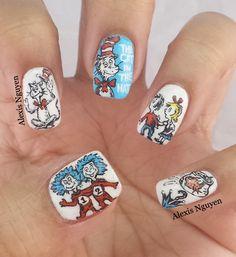 Dr Seuss Nails Pinterest Hair Makeup Nail Nail And Nail