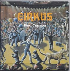 King Crimson 2CD Cirkus Young Persons  Guide to Live Fripp Lake Bruford Belew