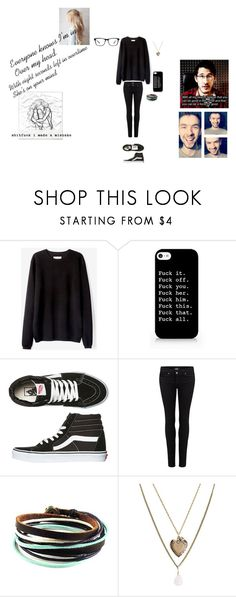 """""""Over My Head (Cable Car) by The Fray"""" by kyle-tbc ❤ liked on Polyvore featuring Polaroid, Vans, Paige Denim, Aéropostale, Joseph Marc, Roxy, YouTubers, markiplier and Jacksepticeye"""