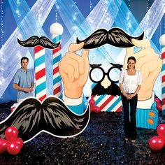 Mustache decorations