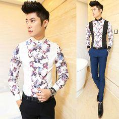 Дешевые рубашки домашние муж. , покупайте качественные   непосредственно у китайских поставщиков  .