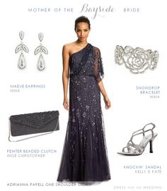 Elegant style for mother of the bride | Dress for the Wedding