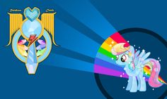 Crystal Rainbow Dash
