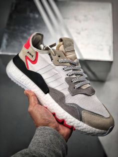 ADIDAS BOOST NITE JOGGER 2019 F34123 Sneakers Vans, Converse, Casual Sneakers, Adidas Shoes, Casual Shoes, Adidas Zx, Snickers Tenis, Mens Fashion Shoes, Sneakers Fashion