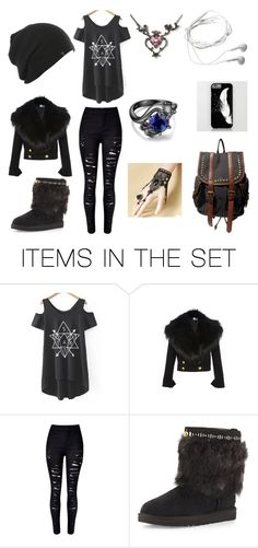 """""""emo girls outfit"""" by sarahbearxoxo ❤ liked on Polyvore featuring art"""