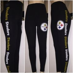 Pittsburgh Leggings by WendyMarisolDesigns on Etsy