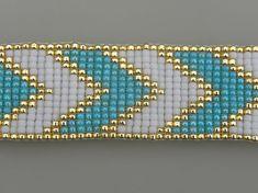 Hand Beaded Loom Bracelet