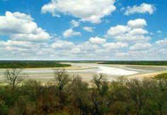 Laguna salada de Campo María, Dpto. de Boquerón- Paraguay