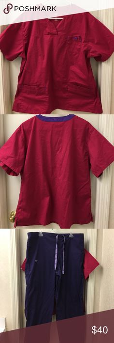 XL Scrub Set Med Couture. EUC. Worn once and washed once. Just doesn't fit how I prefer. Perfect condition. No holes, stains, or tears. No wear on hems. Med Couture Other