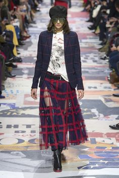View the full Fall 2018 collection from Christian Dior.