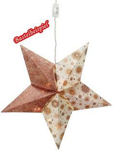CREApop® Stern ca. 46 cm von A -Z Bastelshop auf DaWanda.com