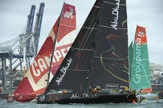 Camper, Groupama 4 and Abu Dhabi / Volvo Ocean Race