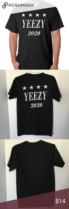 Yeezy For 2020 Unisex Tee Sz S L 25 Yeezy For 2020 Kanye West For President Size S Unisex T Shirt Yeezy 2020 Kanye West President Elec Yeezy Unisex Tee Tees