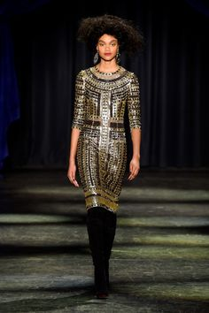 Naeem Khan Fall 2016 at New York Fashion Week
