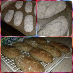 Kefírové kváskové dalamánky s orechmi (fotorecept) - obrázok 4 Kefir, Food And Drink, Bread, Basket, Brot, Baking, Breads, Buns