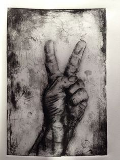 Dry point hand gesture