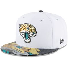 7084bee5ce1 Jacksonville Jaguars New Era 2017 NFL Draft Official On Stage 59FIFTY  Fitted Hat - White