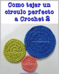 Cómo tejer un círculo perfecto a crochet o ganchillo