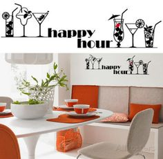 Happy Hour 13 Wall Stickers Wall Decal - at AllPosters.com.au