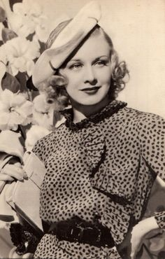 """classichollywoodcentral: """" Ginger Rogers """""""