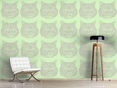 Design #Tapete Katzen Erinnerung