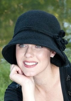Audra Cloche Hat | Headcovers Unlimited | Hats for Hair Loss Chemotherapy