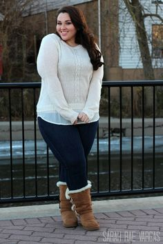 Plus size winter fashion ideas