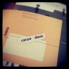 carpe diem quote http://instagram.com/p/bfpCA4kMzJ/